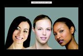 肤色测试卡-Human Skin Color Matching Chart